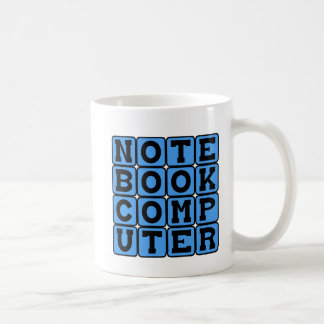 Notebook Computer, Portable Device Coffee Mug