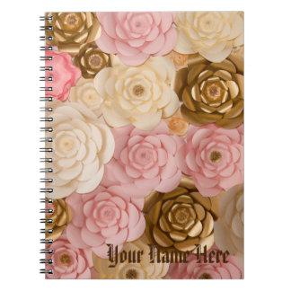 Notebook Floral Design