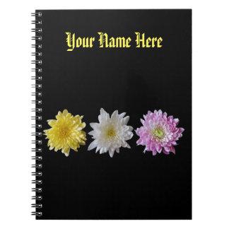 Notebook Flower Design