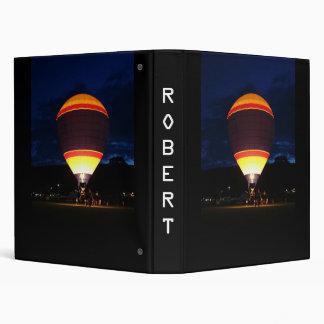 Notebook Glow customize 3 Ring Binder