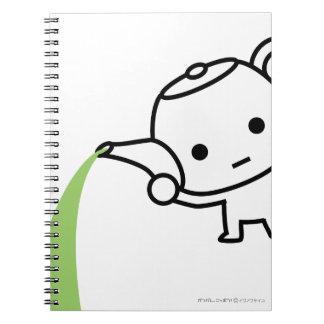 NoteBook - Greea Tea - White