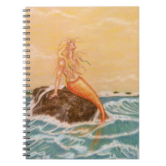 Notebook Journal Vintage Mermaid Chronicles Diary