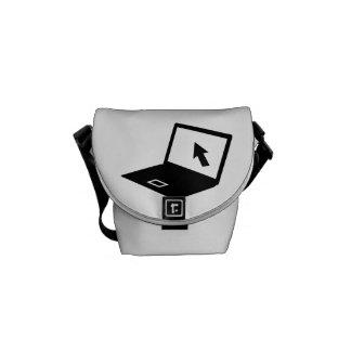 Notebook laptop mouse cursor courier bags