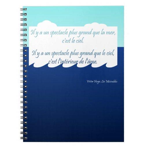 Notebook: L'interieur de l'âme