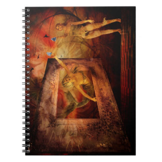 Notebook-Looking Outward Together Spiral Notebook