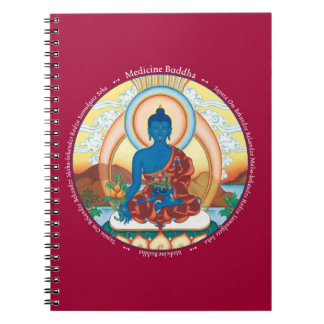 NOTEBOOK - Medicine Buddha with his Mantra