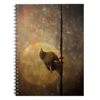 Notebook-Mischievous Crow Note Books