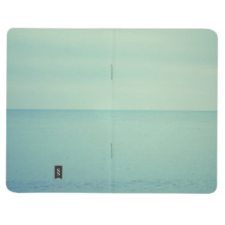 Notebook moleskine style blue office school cuadernos grapados