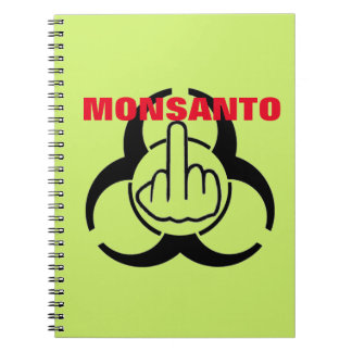 Notebook Monsanto Bio Hazard Flip