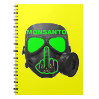 Notebook Monsanto Gas Mask Flip