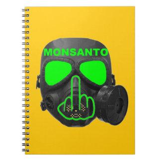 Notebook Monsanto Gas Mask Flip