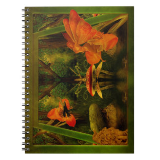 Notebook-Nature's Things Spiral Notebook