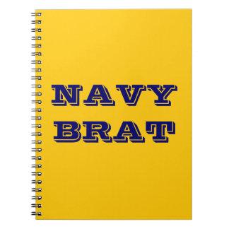 Notebook Navy Brat