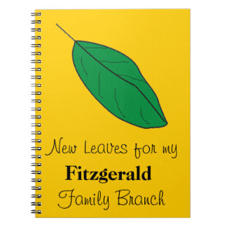 Notebook - New Leaves