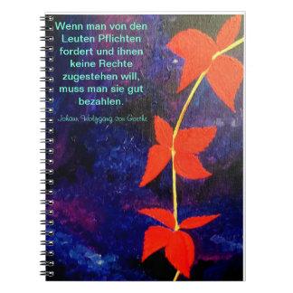 Notebook - Notizbuch