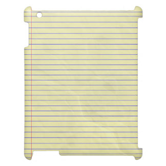 Notebook Pad Legal Yellow Case For The iPad