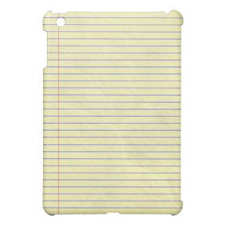 Notebook Pad Legal Yellow iPad Mini Cases