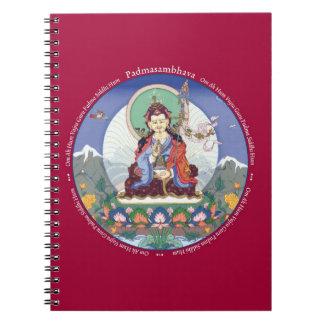 NOTEBOOK - Padmasambhava (Guru Rinpoche) + mantra
