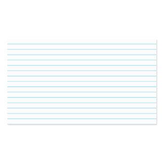 Notebook-Paper Business Card