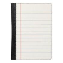Notebook Paper iPad Air Case
