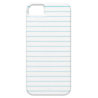 Notebook Paper iPhone SE/5/5s Case