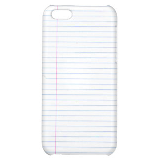 Notebook Paper Speck Case Cover For iPhone 5C