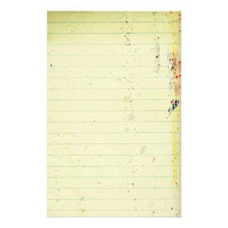 Notebook Paper Stationery