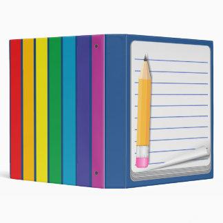 Notebook & Pencil - Customize This Teacher Binder