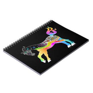 NOTEBOOK, Pop Art HORSE Spiral Notebook