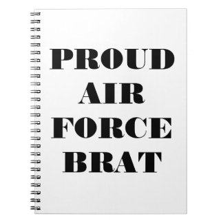 Notebook Proud Air Force Brat