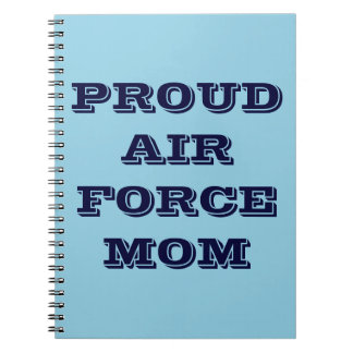 Notebook Proud Air Force Mom