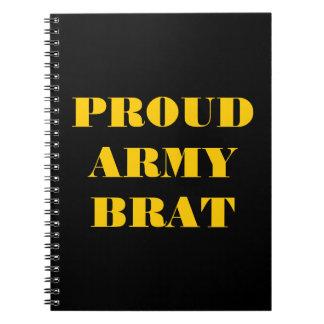 Notebook Proud Army Brat