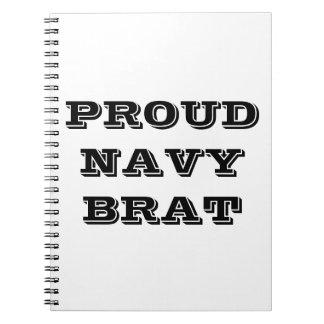 Notebook Proud Navy Brat