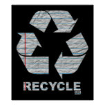 Notebook Recycle Poster