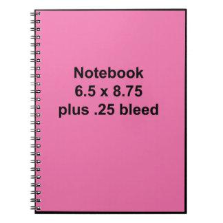 Notebook Template Fill