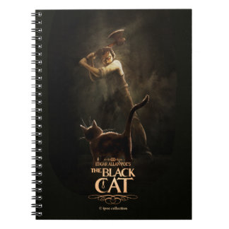 "Notebook ""The Black Cat"""
