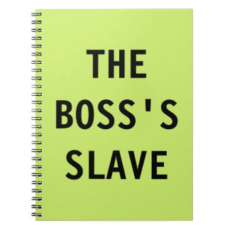 Notebook The Boss's Slave