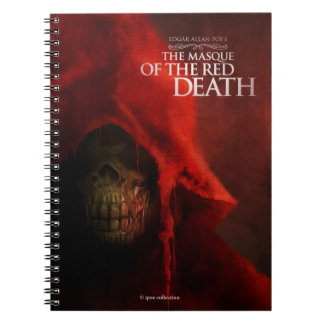 """Notebook """"The Masque of the Red Death"""" Libreta"""