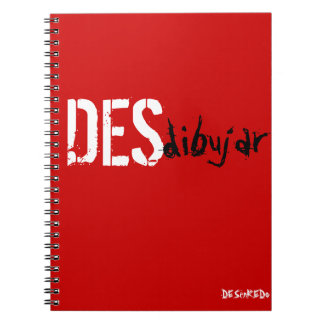 Notebook To blur red Disentanglement