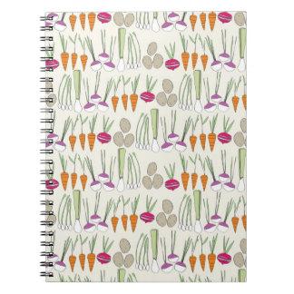 Notebook- Veggies! Notebook