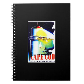 Notebook-Vintage Travel-Cape Cod Notebook