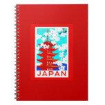 Notebook-Vintage Travel-Japan 2