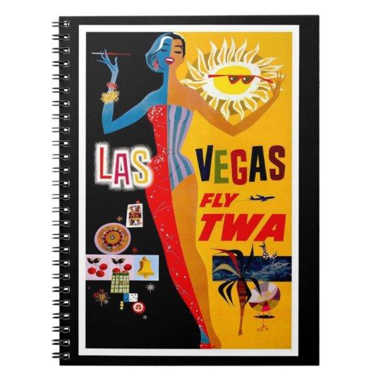 Notebook-Vintage Travel-Las Vegas Notebook
