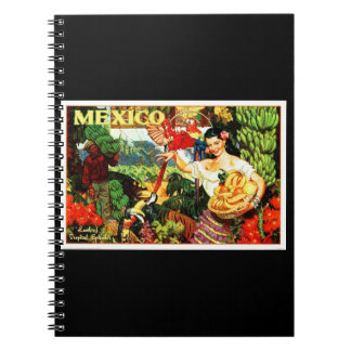 Notebook-Vintage Travel-Mexico 2 Notebook