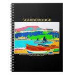 Notebook-Vintage Travel-Scarborough
