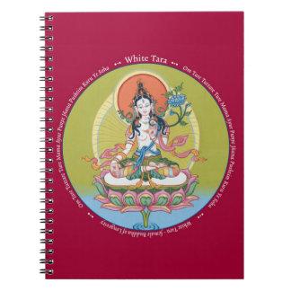 NOTEBOOK - White Tara - Buddha of Longevity