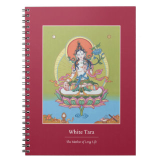 NOTEBOOK White Tara - The Mother of Long Life