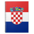 Notebook with Flag of Croatia