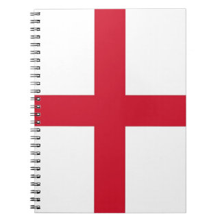 Notebook with Flag of England