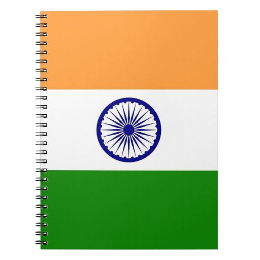 Notebook with Flag of India